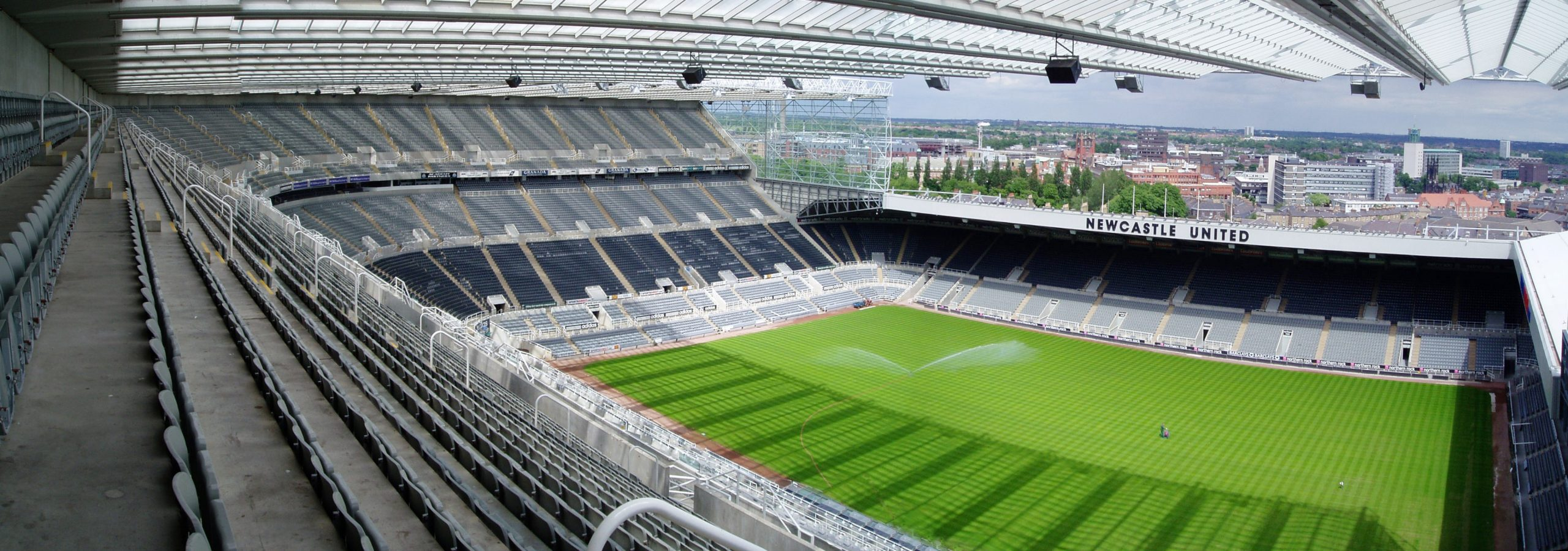 St James Park football stadium